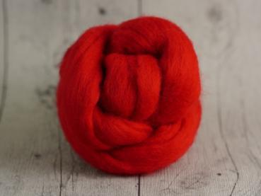 Chunky Wool - Ruby-Red