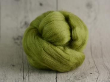 Chunky Wolle - Spargel-Grün