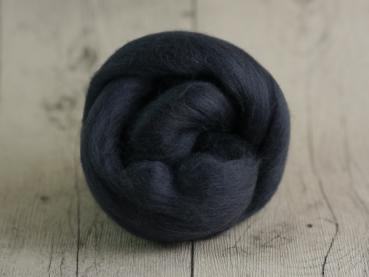 CHUNKY wool coal grey 100 % virgin wool from the merino sheep