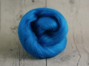 CHUNKY wool petrol blue 100 % virgin wool from the merino sheep