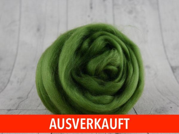 CHUNKY wool olive green 100 % virgin wool from the merino sheep